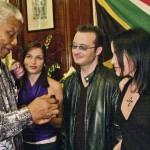 I Corrs e Nelson Mandela