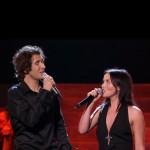 Josh Groban e Andrea in Canto alla vita