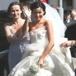 Andrea il giorno del matrimonio