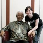 Sharon e Nelson Mandela