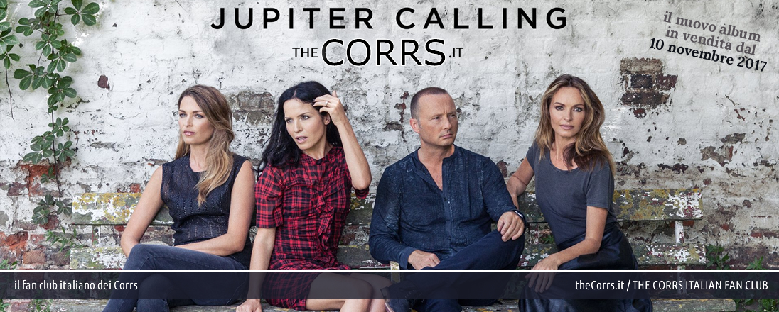 The Corrs italian fan club, theCorrs.it